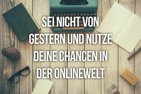 Chancen der Onlinewelt