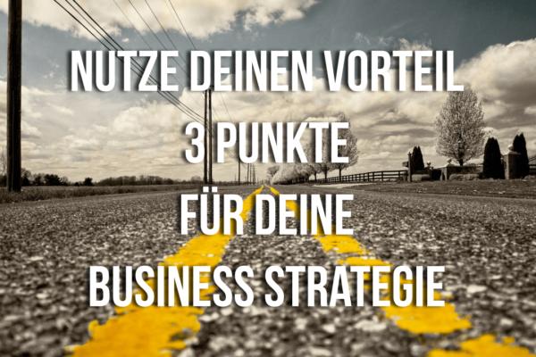 3 Punkte für deine Business Strategie Bild